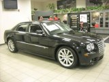 2008 Brilliant Black Crystal Pearl Chrysler 300 C SRT8 #19354688