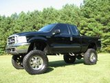 2000 Black Ford F250 Super Duty XLT Extended Cab 4x4 #19364236