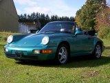 Wimbledon Green Metallic Porsche 911 in 1993