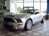 2009 Brilliant Silver Metallic Ford Mustang Shelby GT500KR Coupe #19370700