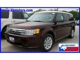 2010 Cinnamon Metallic Ford Flex SE #19356504