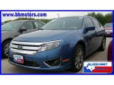 2010 Sport Blue Metallic Ford Fusion SEL V6 #19356798