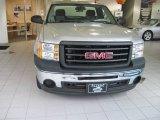 2009 Silver Birch Metallic GMC Sierra 2500HD Work Truck Regular Cab 4x4 #19371538
