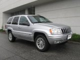 2002 Bright Silver Metallic Jeep Grand Cherokee Limited 4x4 #19366111