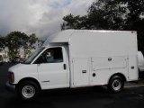 2002 Chevrolet Express Cutaway 3500 Commercial Van Data, Info and Specs
