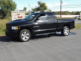 2004 Black Dodge Ram 1500 SLT Quad Cab 4x4 #19365791