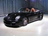 2008 Basalt Black Metallic Porsche 911 Turbo Cabriolet #193827