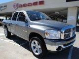 2008 Mineral Gray Metallic Dodge Ram 1500 Big Horn Edition Quad Cab 4x4 #19369356