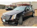 2009 Black Cherry Cadillac CTS Sedan #19364381