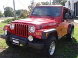 2006 Flame Red Jeep Wrangler Unlimited 4x4 #19366032
