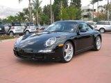 2007 Black Porsche 911 Carrera S Coupe #19356485