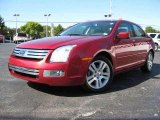 2008 Redfire Metallic Ford Fusion SEL V6 #19369653
