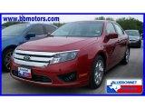 2010 Sangria Red Metallic Ford Fusion SE #19356797