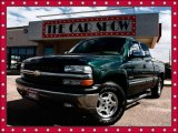 2002 Forest Green Metallic Chevrolet Silverado 1500 LT Extended Cab 4x4 #19491925