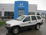 2002 Bright Silver Metallic Jeep Grand Cherokee Laredo 4x4 #19501121