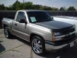 2003 Light Pewter Metallic Chevrolet Silverado 1500 LS Regular Cab #19539200