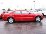 2008 Inferno Red Crystal Pearl Chrysler 300 LX #19524106