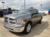 2010 Mineral Gray Metallic Dodge Ram 1500 Big Horn Quad Cab #19538271