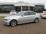 2007 Titanium Silver Metallic BMW 3 Series 335i Sedan #19536965