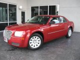2008 Inferno Red Crystal Pearl Chrysler 300 LX #19483334