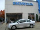 2007 Alabaster Silver Metallic Honda Civic LX Sedan #19527305