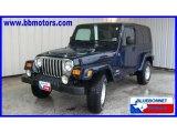 2006 Midnight Blue Pearl Jeep Wrangler Unlimited 4x4 #19498154
