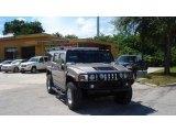 2003 Pewter Metallic Hummer H2 SUV #19596886