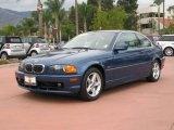 2000 Topaz Blue Metallic BMW 3 Series 328i Coupe #19637583