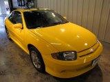 2003 Yellow Chevrolet Cavalier LS Sport Coupe #19649452