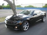 2010 Black Chevrolet Camaro SS/RS Coupe #19639228