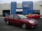 2007 Sport Red Metallic Chevrolet Malibu LTZ Sedan #19643675