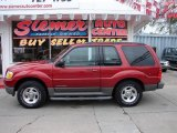2001 Toreador Red Metallic Ford Explorer Sport 4x4 #19646050
