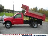 2004 Ford F450 Super Duty Red