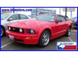 2005 Torch Red Ford Mustang GT Premium Convertible #19637917