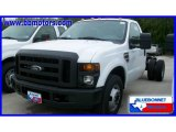 2010 Oxford White Ford F350 Super Duty XL Regular Cab Chassis #19637716