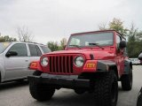 2006 Flame Red Jeep Wrangler X 4x4 #19652001