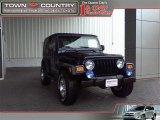 2006 Midnight Blue Pearl Jeep Wrangler X 4x4 #19649877