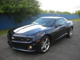2010 Imperial Blue Metallic Chevrolet Camaro SS Coupe #19639229