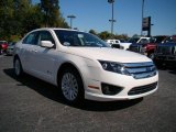 2010 White Platinum Tri-coat Metallic Ford Fusion Hybrid #19700007