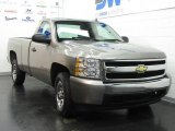 2007 Graystone Metallic Chevrolet Silverado 1500 LS Regular Cab #19706401