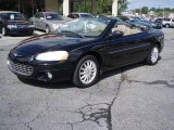 2002 Black Chrysler Sebring LXi Convertible #19702802