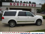 2007 White Chocolate Tri-Coat Lincoln Navigator L Luxury 4x4 #19699463