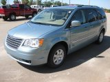 2010 Clearwater Blue Pearl Chrysler Town & Country Touring #19702146