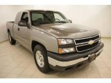 2007 Graystone Metallic Chevrolet Silverado 1500 Classic Work Truck Extended Cab #19709961