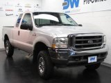 2004 Silver Metallic Ford F250 Super Duty Lariat SuperCab 4x4 #19706389