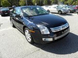 2008 Dark Blue Ink Metallic Ford Fusion SEL #19703061