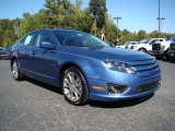 2010 Sport Blue Metallic Ford Fusion SE #19700004