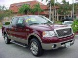 2006 Dark Toreador Red Metallic Ford F150 Lariat SuperCrew #1964866