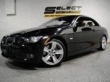 2007 Jet Black BMW 3 Series 335i Convertible #19755460