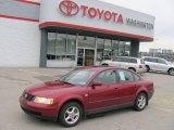 2001 Volkswagen Passat Colorado Red Pearl
